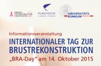 Veranstaltung zum internationalen Tag zur Brustrekonstruktion