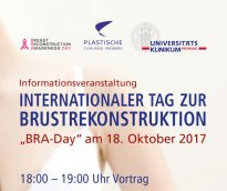 "Internationaler Tag der Brustrekonstruktion ""Bra-Day"" am 15. Oktober 2017"
